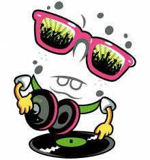 TRANSFER CAMISETA DJ DISCO