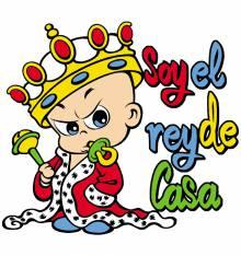 TRANSFER CAMISETA SOY EL REY CASA