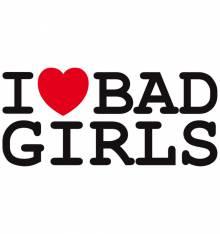 TRANSFER CAMISETA BAD GIRLS