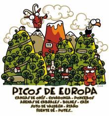 TRANSFER CAMISETA PICOS DE EUROPA