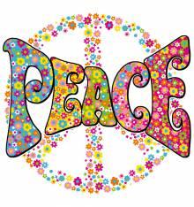 TRANSFER CAMISETA PEACE FLORES