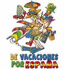 TRANSFER CAMISETA VACACIONES ESPAÑA
