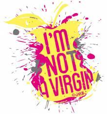 TRANSFER CAMISETA I'M NOT VIRGIN