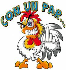 TRANSFER CAMISETA GALLO CON UN PAR