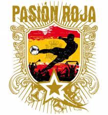 TRANSFER CAMISETA PASION ROJA
