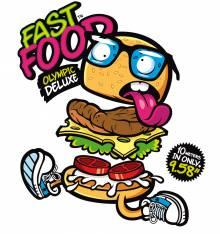 TRANSFER CAMISETA FAST FOOD
