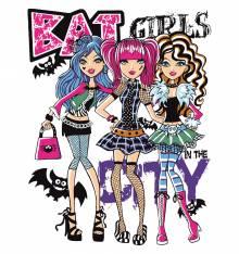 TRANSFER CAMISETA BAT GIRLS