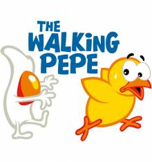TRANSFER CAMISETA THE WALKING PEPE