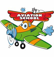 TRANSFER CAMISETA AVIATION SCHOOL