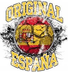 TRANSFER CAMISETA ORIGINAL ESPAÑA FUTBOL