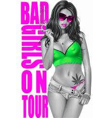 TRANSFER CAMISETA BAD GIRLS ON TOUR