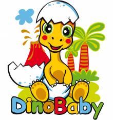 TRANSFER CAMISETA DINO BABY