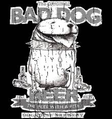 TRANSFER CAMISETA BAD DOG