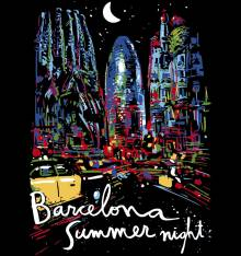 TRANSFER CAMISETA BCN SUMMER