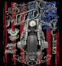 TRANSFER CAMISETA MOTO USA