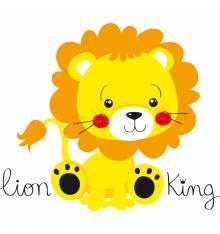 TRANSFER CAMISETA LION KING BEBE