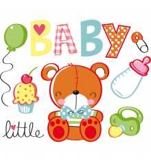 TRANSFER CAMISETA OSITO BABY LITTLE