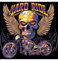 TRANSFER CAMISETA HARD RIDE MOTO