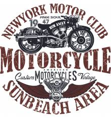 TRANSFER CAMISETA MOTOCYCLE AREA