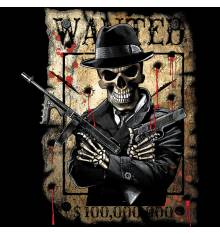 TRANSFER CAMISETA WANTED MAFIA SKULL