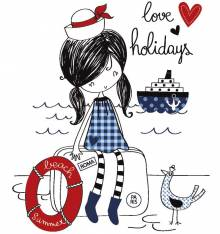 TRANSFER CAMISETA LOVE HOLIDAYS
