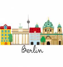 TRANSFER CAMISETA EDIFICIOS BERLIN
