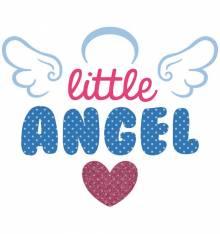 TRANSFER CAMISETA LITTLE ANGEL