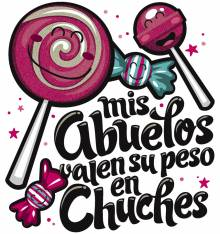 TRANSFER CAMISETA CHUCHES ABUELOS