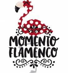 TRANSFER CAMISETA MOMENTO FLAMENCO