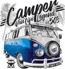 TRANSFER CAMISETA FURGO CAMPER