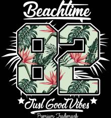 TRANSFER CAMISETA BEACHTIME