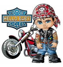 TRANSFER CAMISETA HELO BABY MOTOR